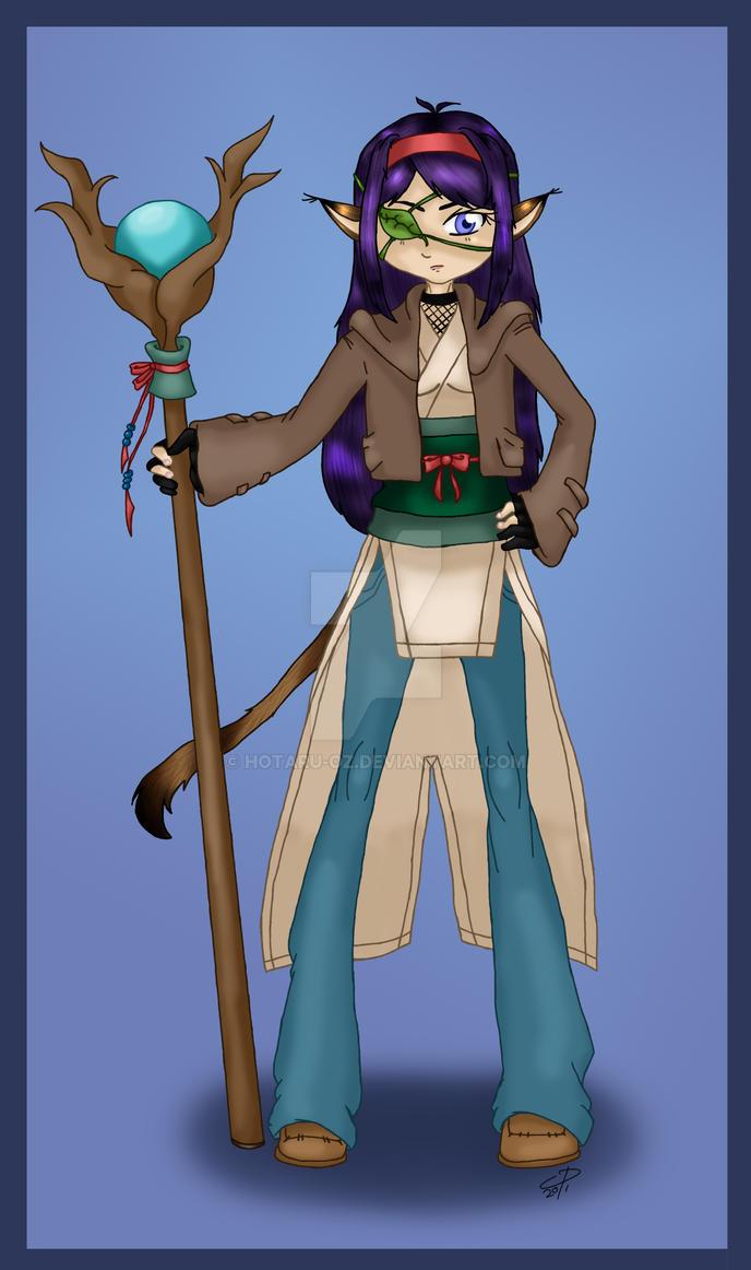 Kara concept by Hotaru-oz