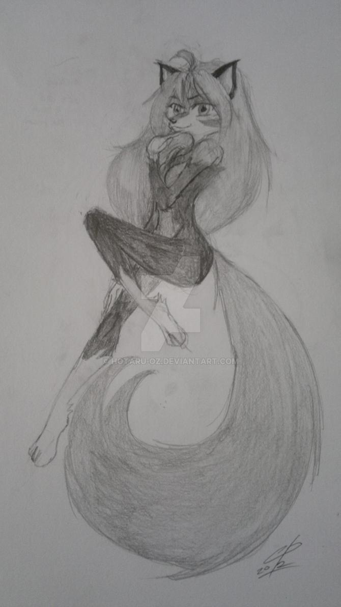 sketch for skandian by Hotaru-oz