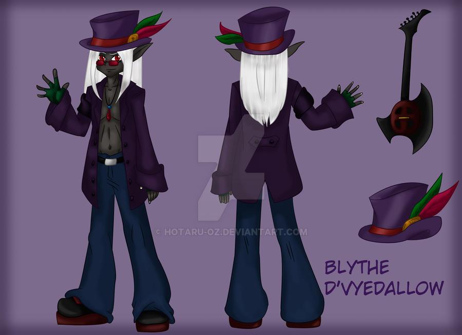 Blythe concept art by Hotaru-oz