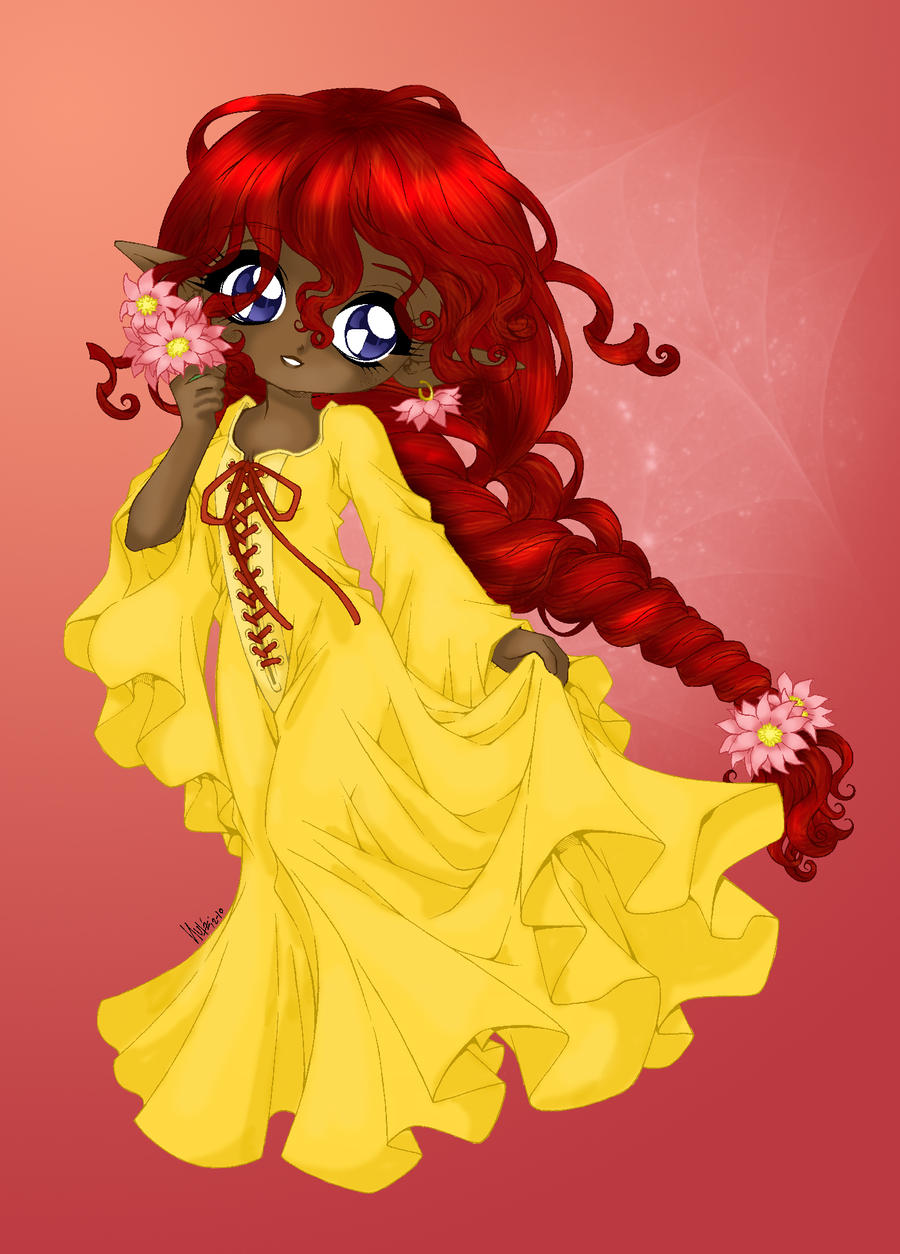 Keicea coloured by Hotaru-oz