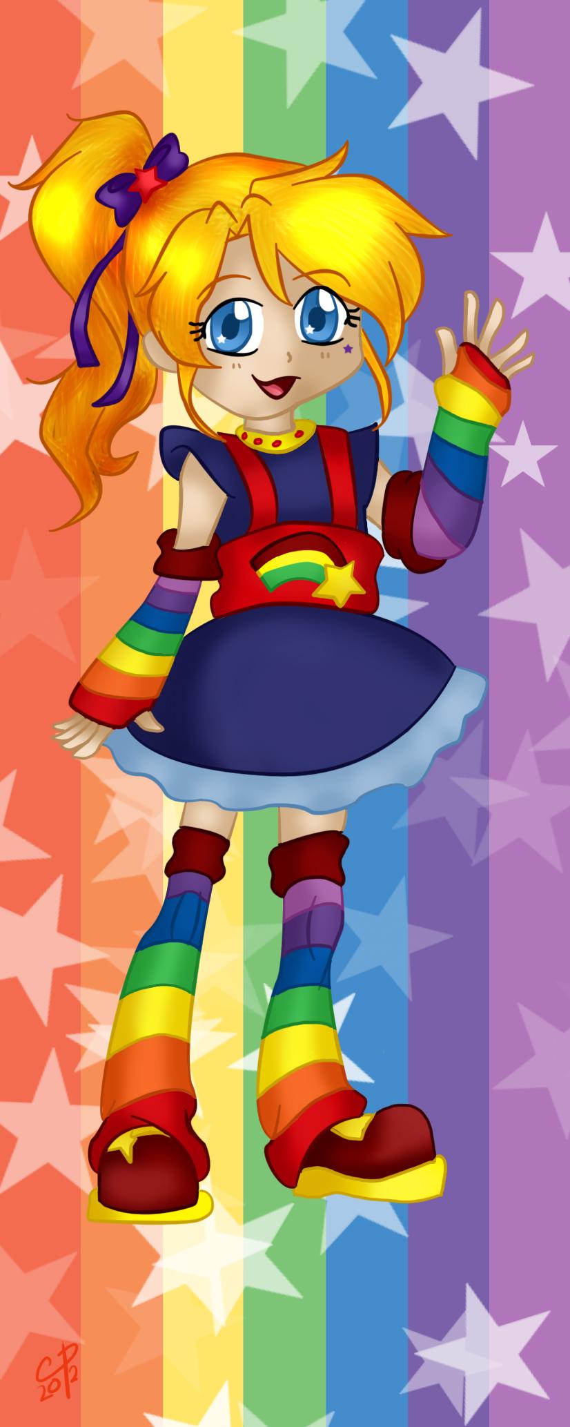 Rainbow Brite bookmark design by Hotaru-oz