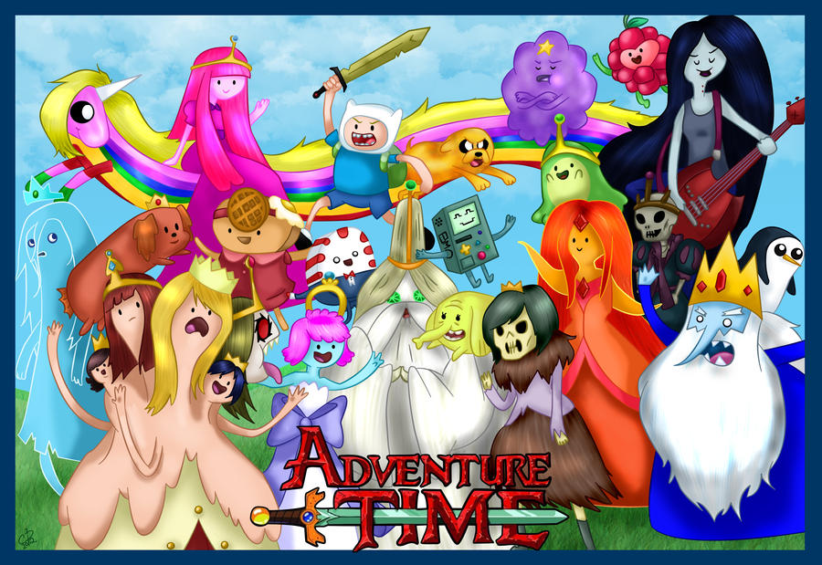 Adventure Time Character Wallpapers