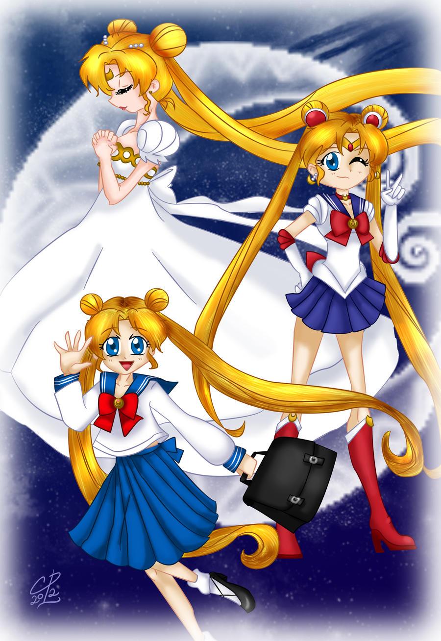 Pretty Soldier Sailor Moon by Hotaru-oz