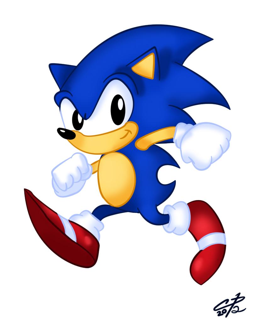 Sonic the Hedgehog by Hotaru-oz