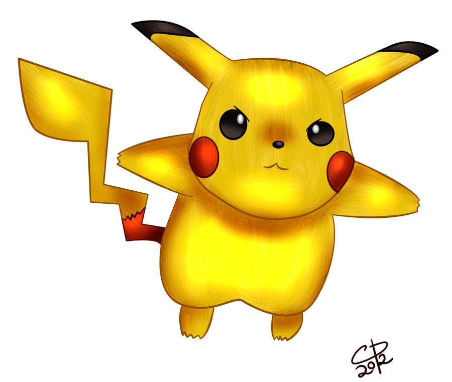 Pikachu by Hotaru-oz