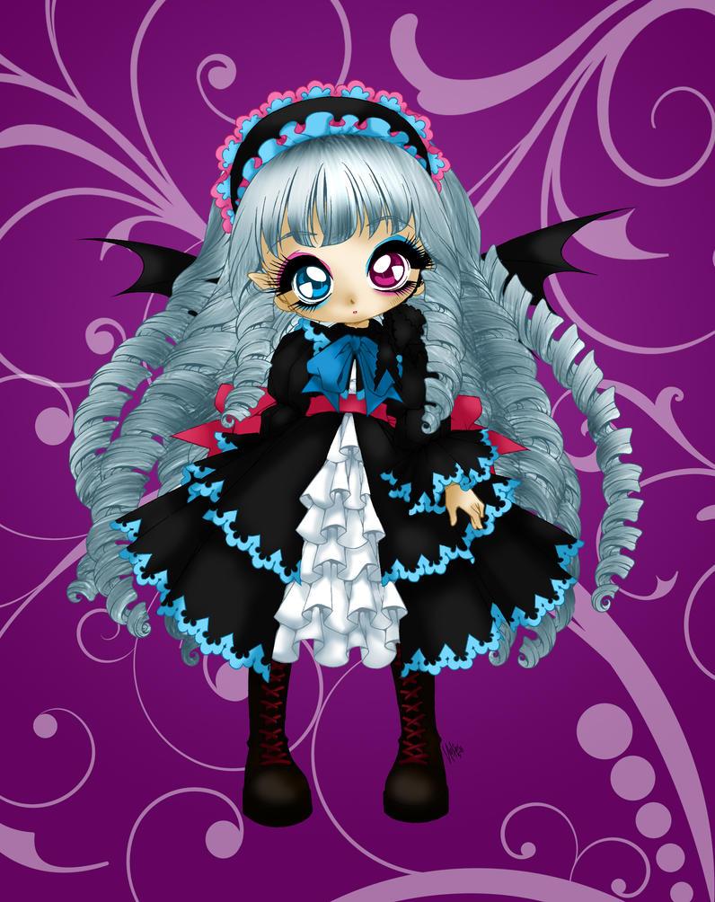 Vampire Girl by Hotaru-oz