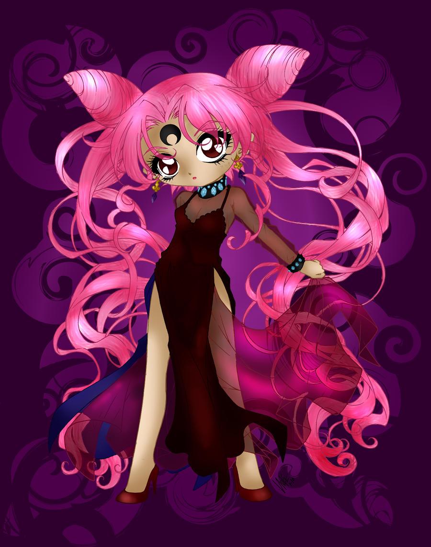 Black lady coloured by Hotaru-oz