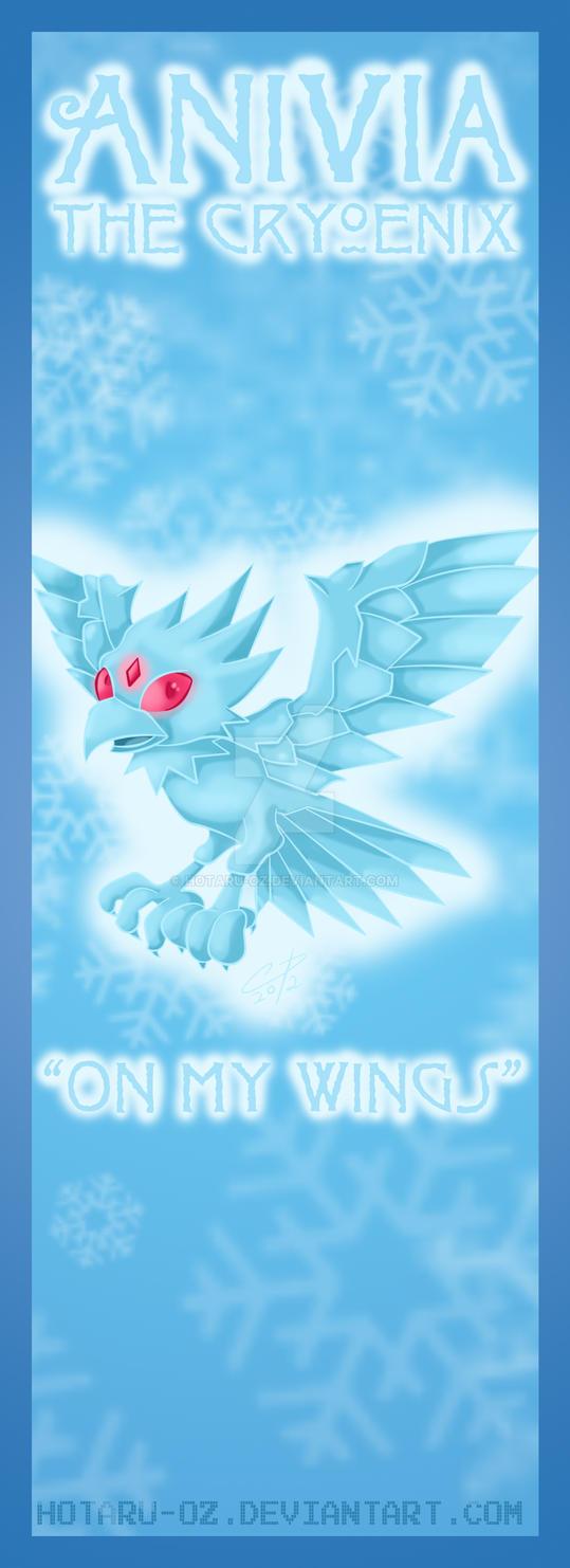 Anivia bookmark design by Hotaru-oz