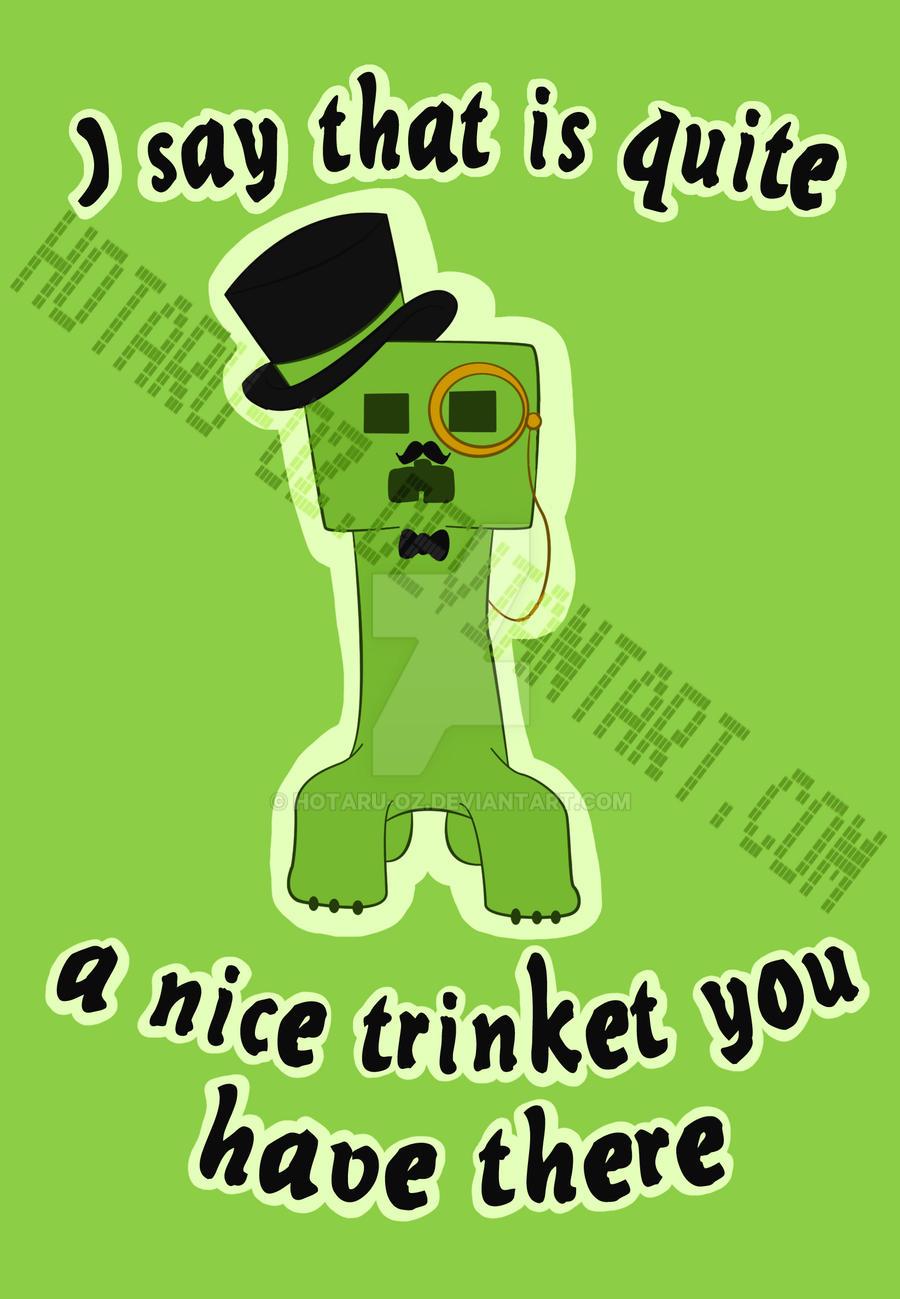 Gentlemen creeper design by Hotaru-oz