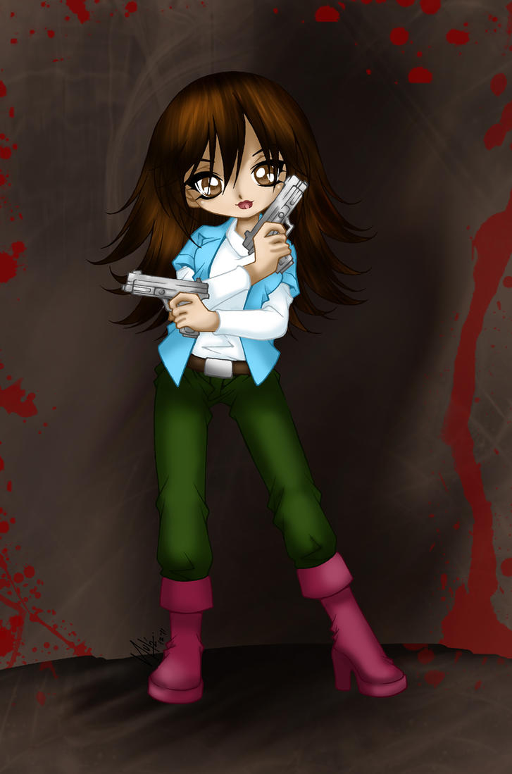 Jen Nickles by Sureya colours by Hotaru-oz