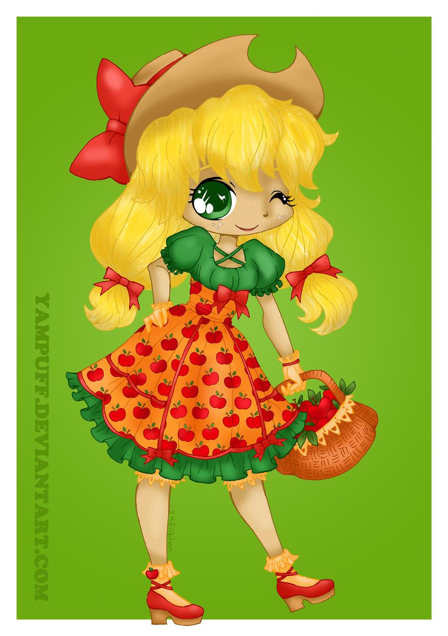 Apple Jack lolita by Hotaru-oz