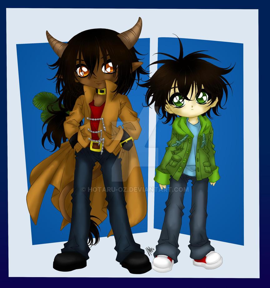 Kalexi And Noah By Sureya by Hotaru-oz