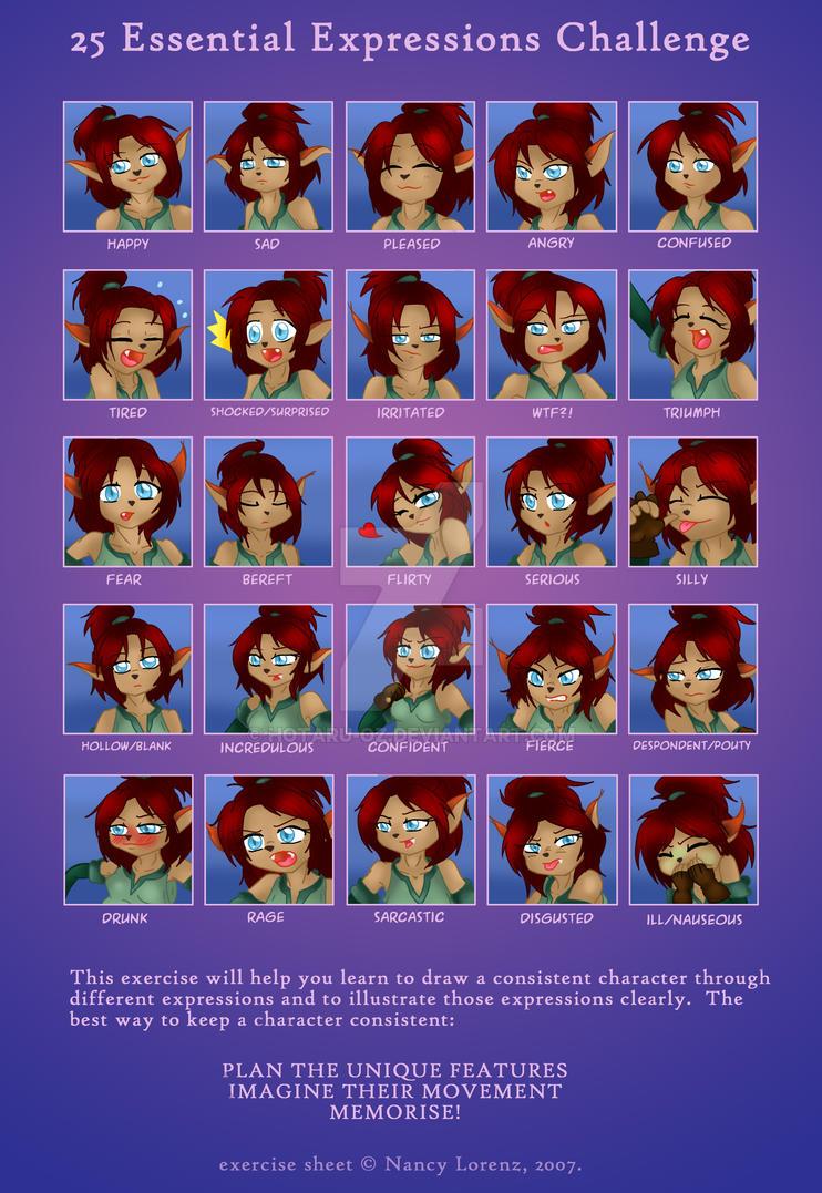25 Essential Expressions Aya by Hotaru-oz