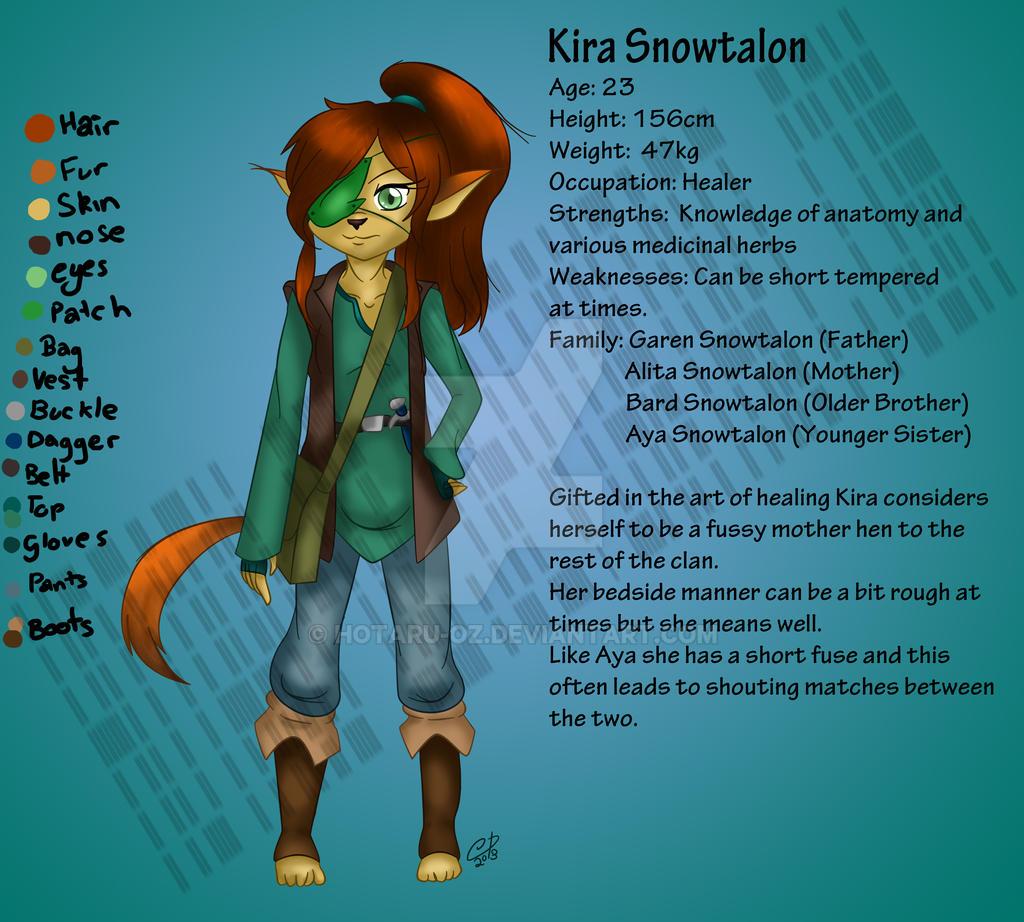 Kira-concept by Hotaru-oz