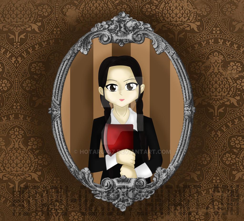 wednesday Addams by Hotaru-oz