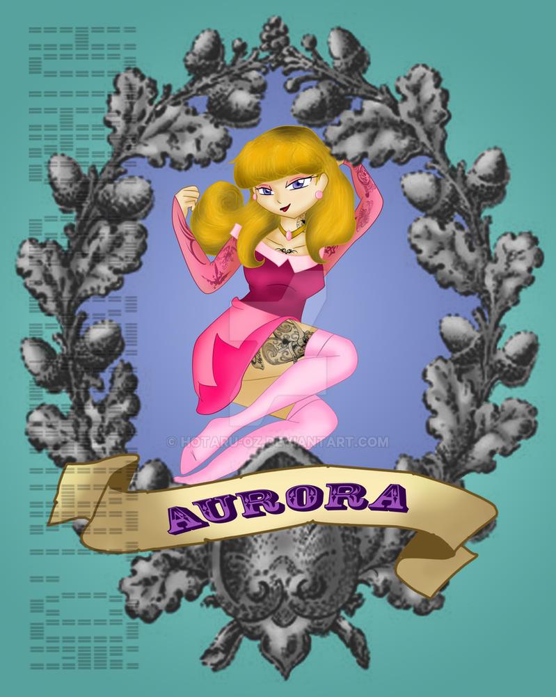 Pin up princess Aurora by Hotaru-oz