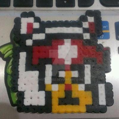 Speedy bead sprite by Hotaru-oz