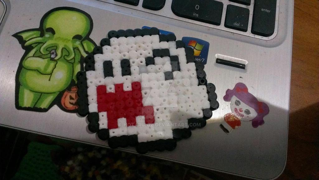 Boo perler bead sprite by Hotaru-oz