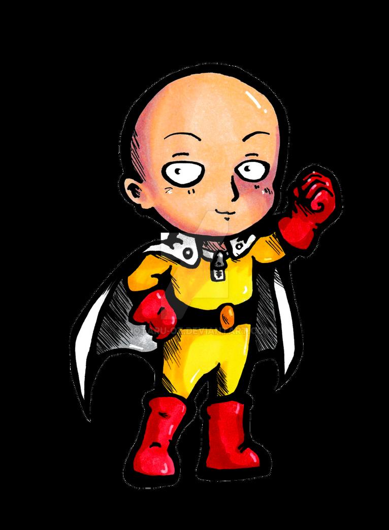 One Punch chibi sticker by Hotaru-oz