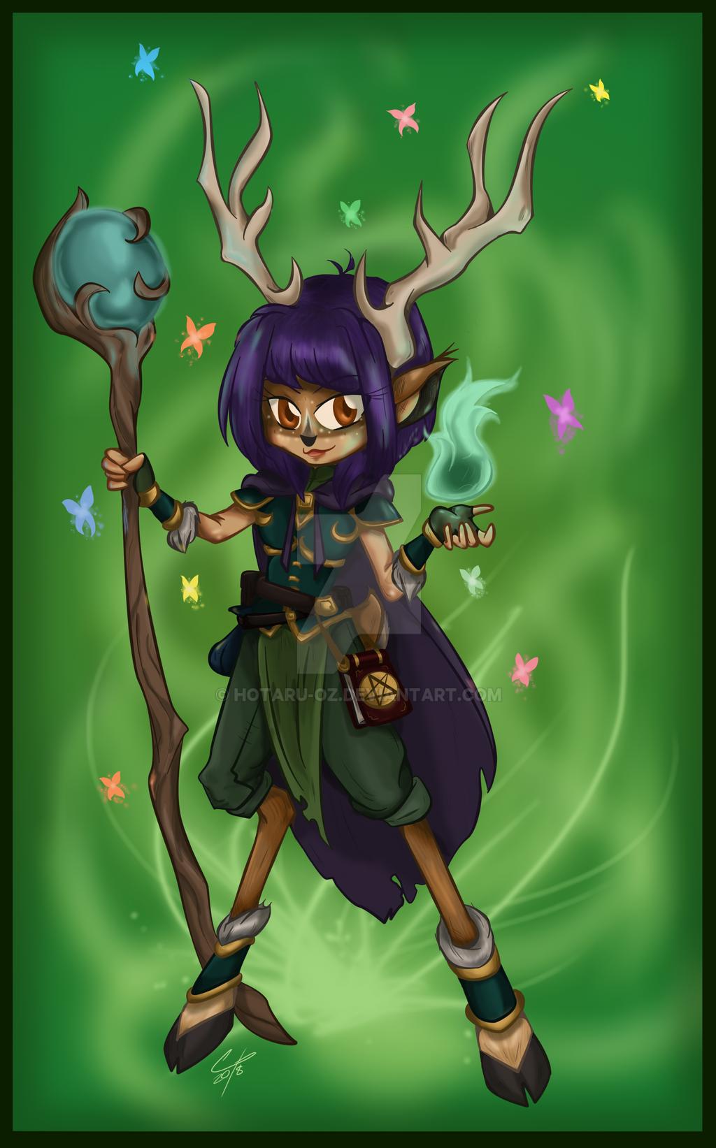 The Druid by Hotaru-oz