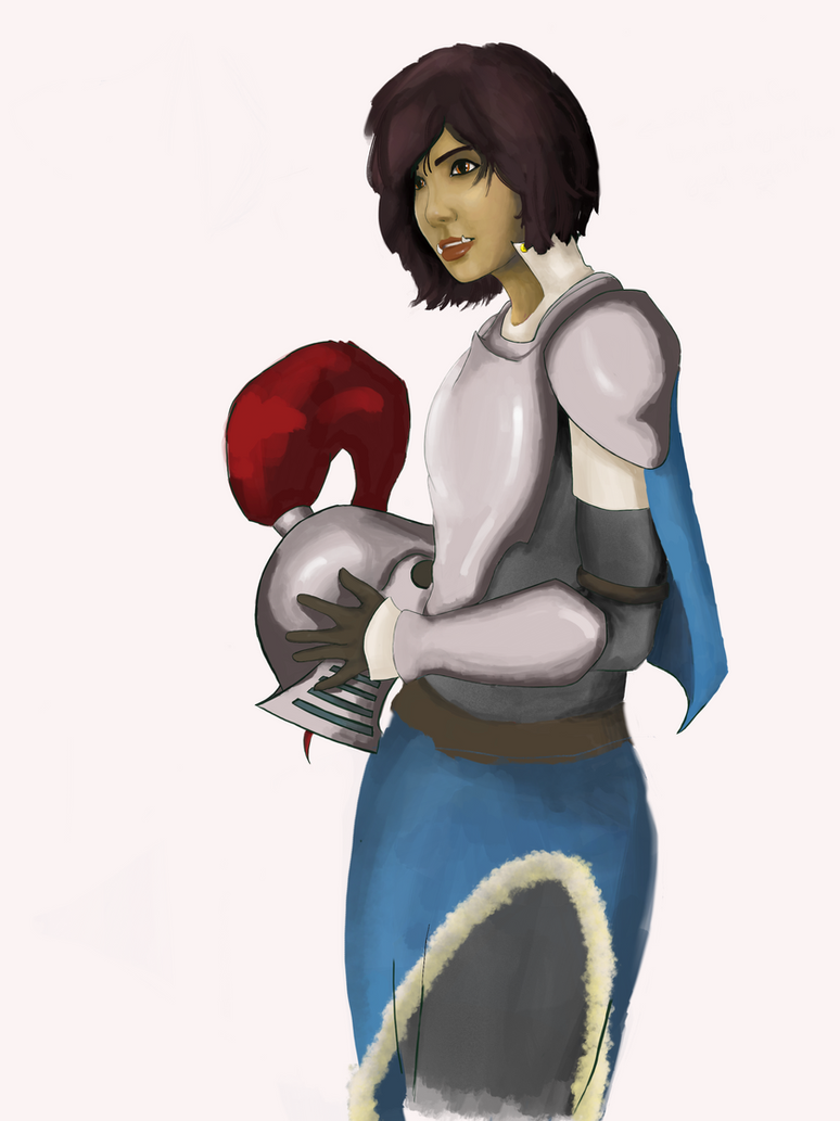 Yva (WIP) by dogrimblizard