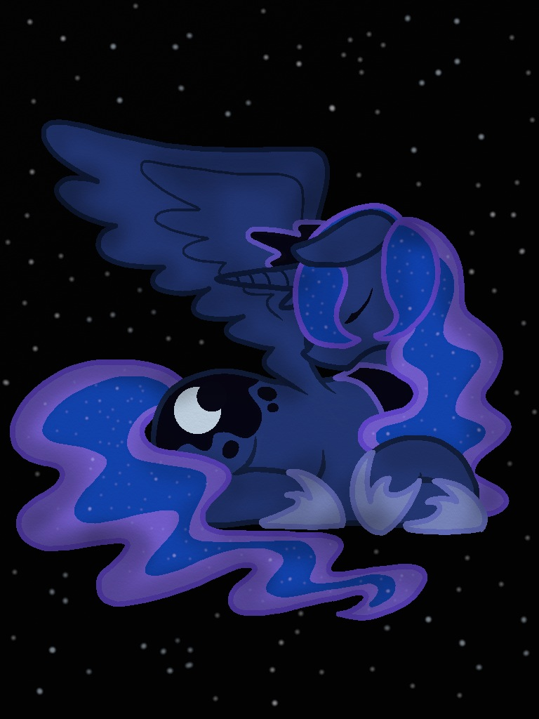 Princess Luna by o0VinylScratch0o