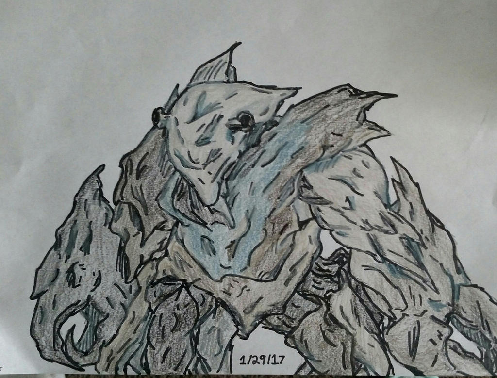 Rock Creature by glantern825