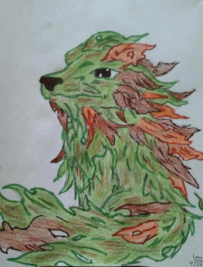 Leaf Creature by glantern825