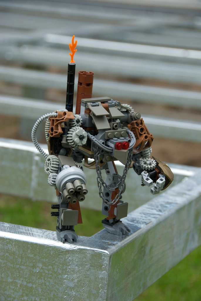 Steam Jack 'Wolf' LEGO 2 by Maroventolo