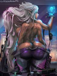 cm#218 mutant girl by cutesexyrobutts