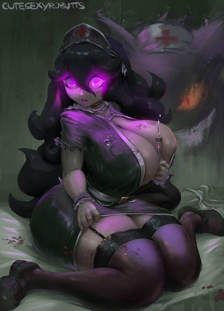 cm#239 nurse hex by cutesexyrobutts