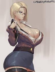 Teacher android 18