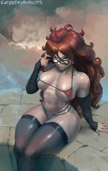 Android 21 by cutesexyrobutts
