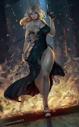 Aya Brea (Parasite Eve) by cutesexyrobutts