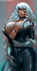 black cat by cutesexyrobutts