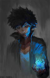 dabi sketch (boku no hero academia) by cutesexyrobutts