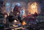 #378 alchemy lab by cutesexyrobutts