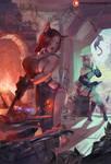 comm#406 blacksmith cats