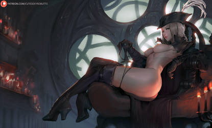 monthly vote - lady maria (bloodborne) by cutesexyrobutts