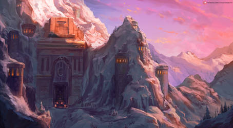 ironforge (world of warcraft) by cutesexyrobutts