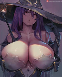 witch - goblin slayer by cutesexyrobutts