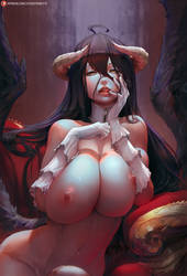 Albedo (overlord) by cutesexyrobutts