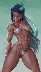 nessa used harden (pokemon sword and shield) by cutesexyrobutts