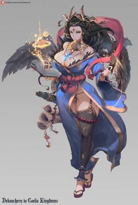 bird girl astrologist