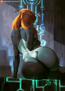 Midna true form (zelda: twilight princess)