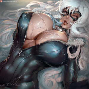 webbed black cat