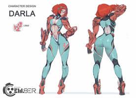 em8er character sketch - darla