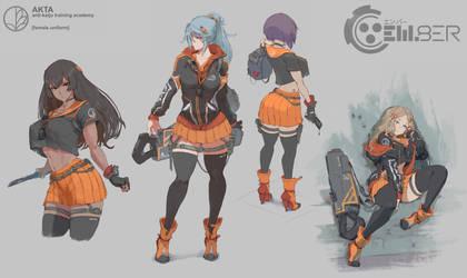 em8er concept - school uniform (female)