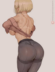 android 18 in a sweater pt 3