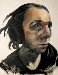 Self portrait by SamaelSebastian